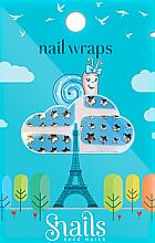 Profumi e cosmetici Adesivi per unghie - Snails Nail Wraps