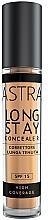 Profumi e cosmetici Correttore cremoso - Astra Make-Up Long Stay Concealer SPF15