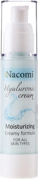 Gel-crema viso - Nacomi Hyaluronic Cream