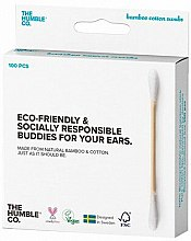 Profumi e cosmetici Bastoncini di cotone di bambù - The Humble Co. Cotton Swabs White