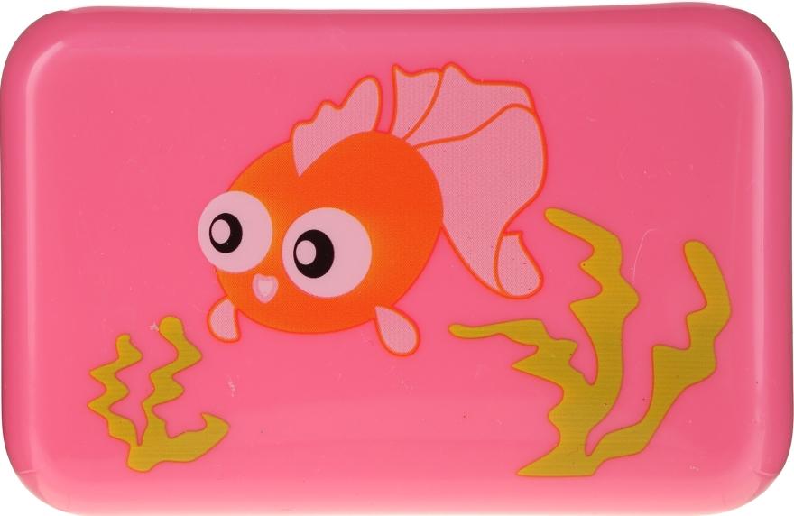 Portasapone per bambini, 6024, rosa con pesce - Donegal