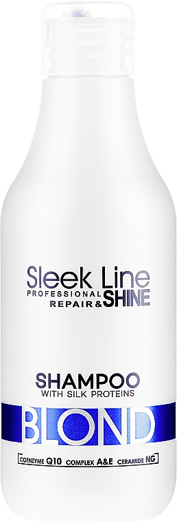 Shampoo per capelli - Stapiz Sleek Line Blond Hair Shampoo