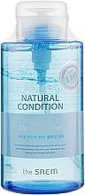 Profumi e cosmetici Acqua micellare - The Saem Natural Condition Sparkling Cleansing Water