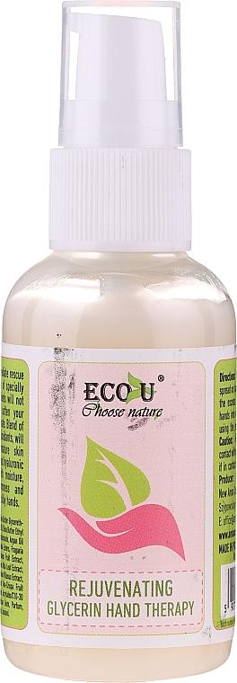 Trattamento mani antietà alla glicerina - Eco U