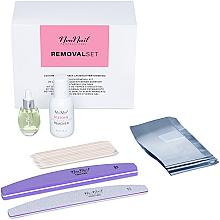 Profumi e cosmetici Set - NeoNail Professional Removal Set (rem/50ml + oil/15ml + n/file/2pc + n/wraps/100pc + sticks/10pc)
