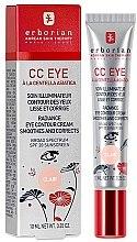 Profumi e cosmetici CC-crema per la pelle del contorno occhi - Erborian Finish CC Eye Cream