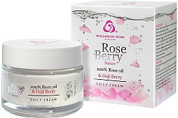 Profumi e cosmetici Crema viso da giorno - Bulgarian Rose Rose Berry Nature Day Cream