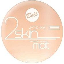 Profumi e cosmetici Cipria compatta opacizzante - Bell 2 Skin Pocket Pressed Powder Mat