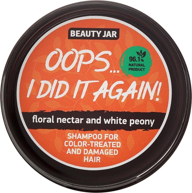 """Shampoo per capelli tinti e danegiati """"Oops…I did it again!"""" - Beauty Jar Shampoo For Colour-Treated And Damaged Hair — foto N2"""