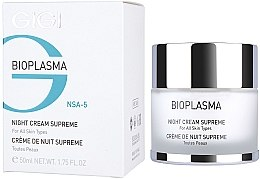 Profumi e cosmetici Crema notte nutriente - Gigi Bioplasma Night Cream Supreme