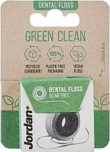 Profumi e cosmetici Filo interdentale, 30 m - Jordan Green Clean Dental Floss