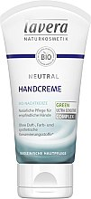 Profumi e cosmetici Crema mani - Lavera Neutral Green Ultra Sensitive Complex Hand Cream