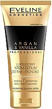 Profumi e cosmetici Crema-siero mani e unghie - Eveline Cosmetics Spa Professional Argan&Vanilla