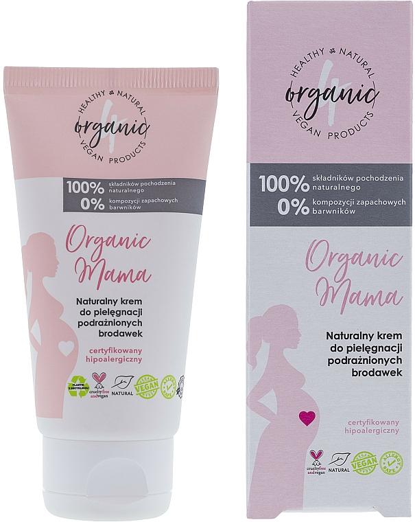 Crema naturale per la cura dei capezzoli irritati - 4Organic Organic Mama Natural Cream For The Care Of Irritated Nipples — foto N1