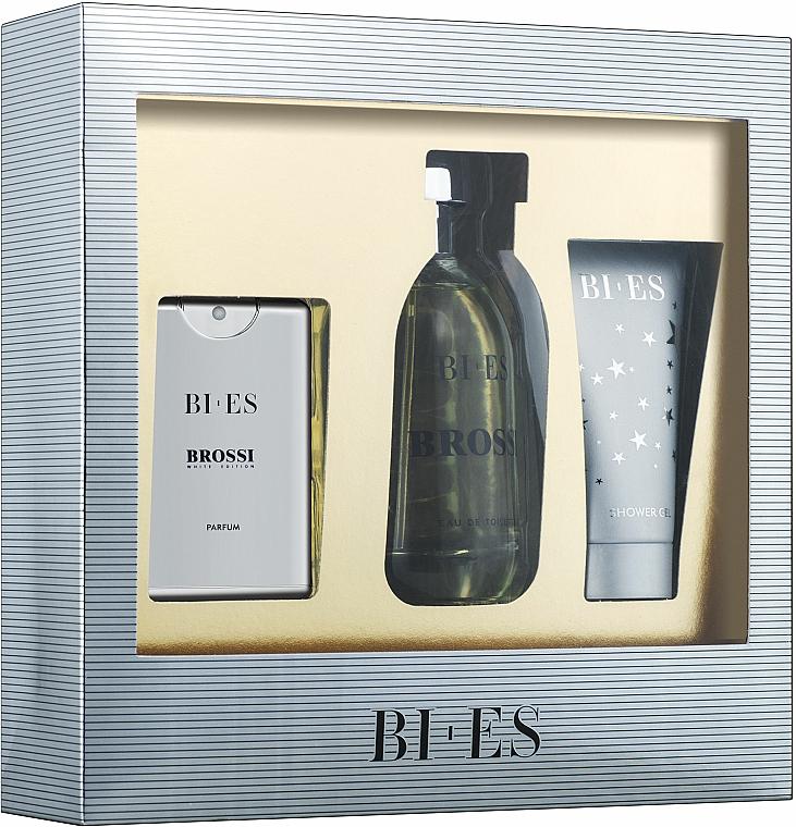 Bi-Es Brossi - Set (edt/100ml + edt/15ml + sh/gel/50ml)