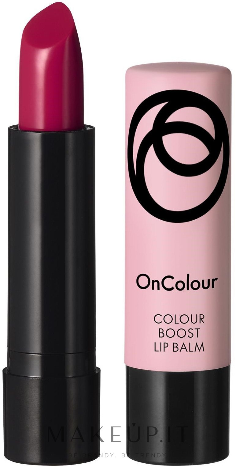 Balsamo labbra colorato - Oriflame OnColour Lip Balm — foto Fuchsia Pink