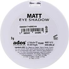 Ombretto opaco - Ados Matt Effect Eye Shadow — foto N12