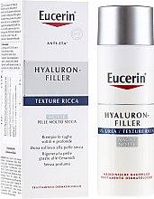Profumi e cosmetici Crema idratante da notte - Eucerin Hyal-Urea Night Creme