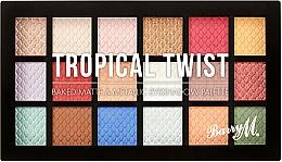 Profumi e cosmetici Palette ombretti - Barry M Eyeshadow Palette Tropical Twist
