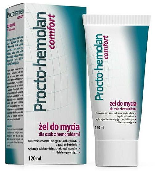 Gel detergente per emorroidi - Aflofarm Procto-Hemolan Comfort Cleaning Gel