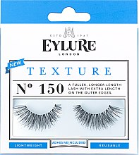 Profumi e cosmetici Ciglia finte №150 - Eylure Pre-Glued Texture