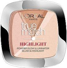 Profumi e cosmetici Cipria-highlighter per viso - L'Oreal Paris True Match Highlight Powder