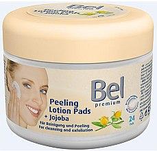 Profumi e cosmetici Dischetti struccanti con olio di jojoba - Bel Premium Peeling Lotion Jojoba Pads