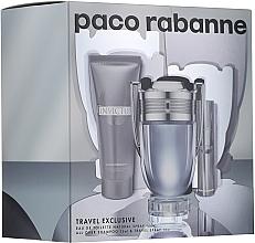 Profumi e cosmetici Paco Rabanne Invictus - Set (edt/100ml + edt/10ml + sh/gel/75ml)