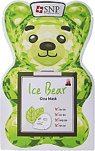 Profumi e cosmetici Maschera viso - SNP Ice Bear Cica Mask