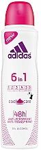 Profumi e cosmetici Deodorante - Adidas Anti-Perspirant 6 in 1 Cool&Care 48h