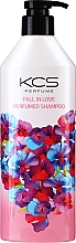 Profumi e cosmetici Shampoo idratante per capelli secchi e danneggiati - KCS Fall In Love Perfumed Shampoo