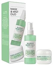 Profumi e cosmetici Set - Mario Badescu Cucumber Mask & Mist Duo Set (mask/56g+spray/118ml)