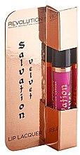Profumi e cosmetici Lucidalabbra - Makeup Revolution Salvation Velvet Lip Lacquer