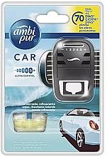 """Profumi e cosmetici Set per auto """"Acqua"""" - Ambi Pur (freshener/1szt+refill/7ml)"""