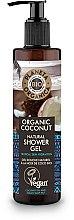 Profumi e cosmetici Gel doccia idratante - Planeta Organica Organic Coconut Natural Shower Gel