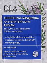 Profumi e cosmetici Salviettine detergenti antibatteriche - DLA