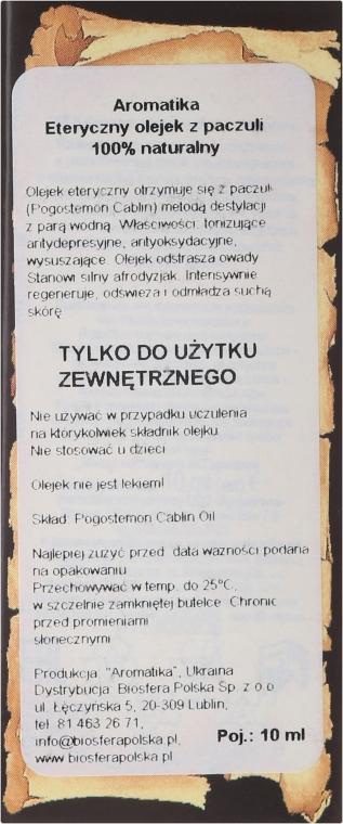 """Olio essenziale """"Patchouli"""" - Aromatika — foto N6"""