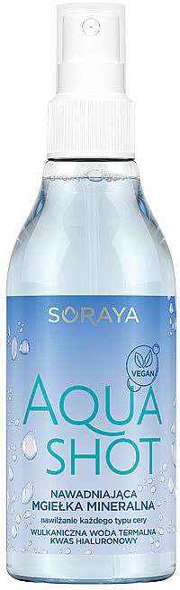 Spray viso idratante - Soraya Aquashot