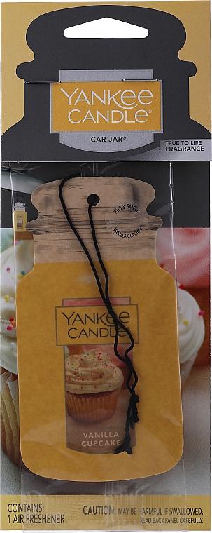 """Aromatizzatore secco """"Vanilla Capcake"""" - Yankee Candle Vanilla Cupcake Car Jar Ultimate"""