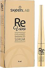 Profumi e cosmetici Siero per la crescita delle ciglia - Skeenlab ReViva Eyelash Enhanced Serum
