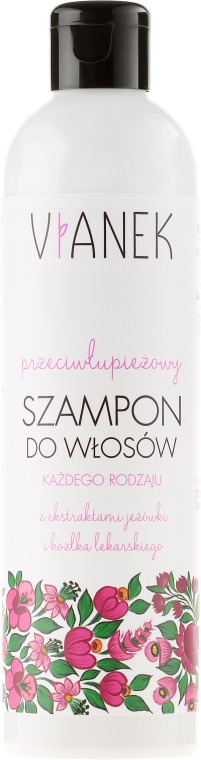 Shampoo antiforfora - Vianek Anti-Dandruff Shampoo