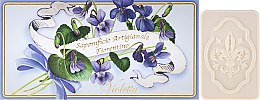 """Profumi e cosmetici Set di saponette """"Viola"""" - Saponificio Artigianale Fiorentino Violet"""