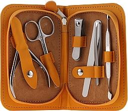 """Profumi e cosmetici Set manicure """"Multi"""", MS-10, 6 pezzi, arancione - Staleks Manicure Set"""
