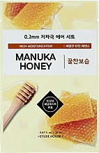 Profumi e cosmetici Maschera viso ultrasottile con estratto di miele di manuka - Etude House Therapy Air Mask Manuka Honey