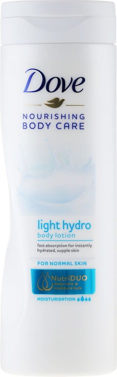 Lozione corpo - Dove Nourishing Body Care Light Hydro Body Lotion