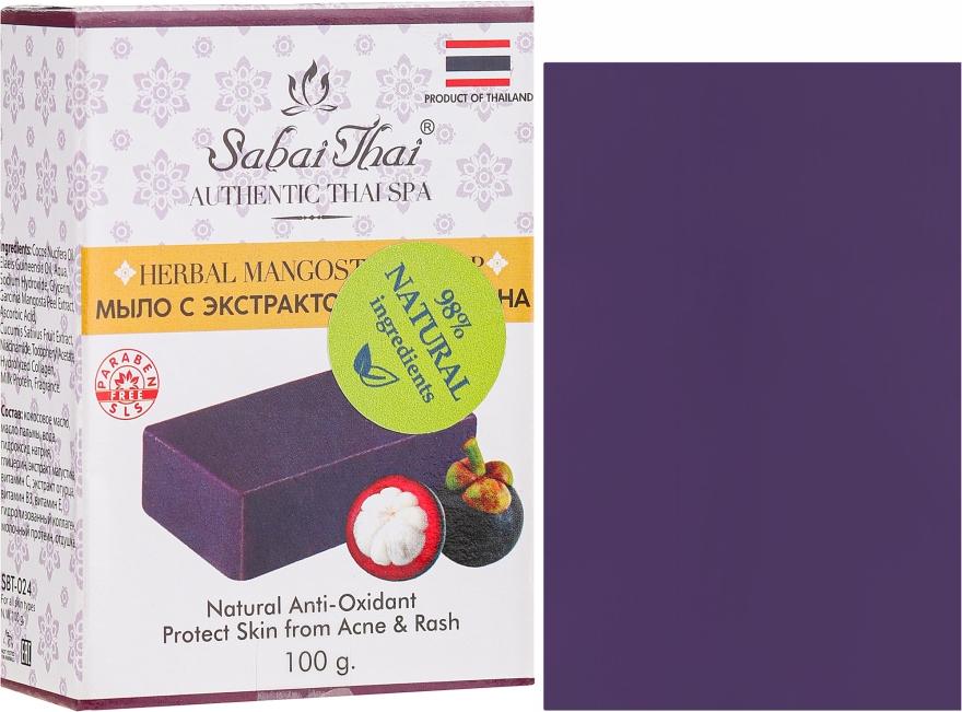Sapone con estratto di mangostano - Sabai Thai Herbal Mangosteen Soap