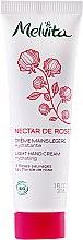 Profumi e cosmetici Crema mani ultra-leggera - Melvita Nectar De Rose Light Hand Cream