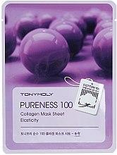 Profumi e cosmetici Maschera in tessuto con collagene - Tony Moly Pureness 100 Collagen Mask Sheet