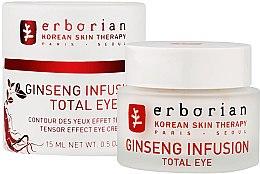 "Profumi e cosmetici Crema contorno occhi ""Ginseng"" - Erborian Ginseng Infusion Total Eye"
