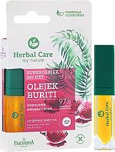 Profumi e cosmetici Olio protettivo per labbra - Farmona Herbal Care Lip Oil